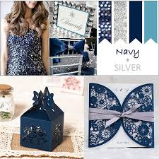 Navy And Silver Metallic Wedding Color Ideas 2016 Trends