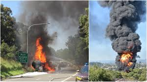 I Saw This Massive Fireball' – Tanker Truck On Fire At Figtree | St ... 1990 Intertional 4900 Fuel Tanker Truck For Sale 601716 Two Lanes On Westbound 210 Freeway In Sylmar Reopen After Tanker United Wt5000 Tanker Trucks Price 194068 Year Of Manufacture Pro Petroleum Truck Fuel Hd Youtube Airbag Prevents From Tipping Over Tankertruck 1931 Ford Model A Classiccarscom Journal Tank Trucks Opperman Son Dais Global Industrial Equipment Tank Truck Hoses Bruder Man Tgs Online Toys Australia Howo H5 Oilfuel Powertrac Building A Better Future Filewater 20 Us Air Forcejpg Wikimedia Commons
