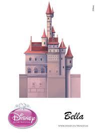 Disney Castle Pumpkin Carving Patterns by Disney Princess Bellas U0027s 3d Printable Castle Template Little