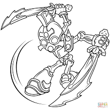 Click The Skylanders Giants Chop Coloring Pages To View Printable