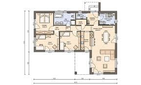 haas bt 133 a bungalow bauhaus haas fertighaus
