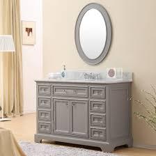 Wayfair Bathroom Vanities Canada by Carenton 48 Inch Traditional Bathroom Vanity Gray Finish