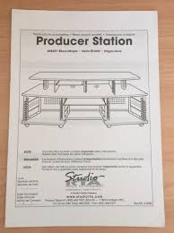 Omnirax Presto 4 Studio Desk Black Dimensions by Studio Rta Creation Station Desk Instructions Hostgarcia