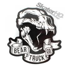 Bear Trucks Skull Logo Sticker Skater HQ Board Shop Landyachtz Bear Grizzly 840s Longboard Skateboard Trucks 852 Black 181mm Original Skateboards Trucks The Freestyle Podcast White Atbshopcouk Skull Logo Sticker Skater Hq 180mm V5 Chrome Pair Macs Waterski Set Of 2 Kahuna Creations Trucks Bear Grizzly 852s Matte Orange 975 Exodus Skate 180 Polar 105mm Skateboard Hopkin Gen 5 Ebaycom Mainland Surf