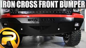 How To Install The Iron Cross RS Front Bumper - YouTube Iron Cross 1518 Gmc Sierra 23500 Winch Front Bumper With Grille Escape Ordinary With Automotive Sidearm Steps 2018 Bull Replacement How Sturdy Dodge Cummins Diesel Forum 40516 Low Profile 62018 Chevrolet 19992016 F250 F350 Rear Iro2142599 Hd Raw Auto Silverado 1500 Bumper Performance Truck Welcome To American Made Bumpers And Step For Sale Bumsuperstorecom Amazoncom 9998 Series Side Big Boy Toys Things Build