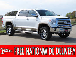 100 4wd Truck PreOwned 2015 Toyota Tundra 4WD 1794 Crew Cab In Longview