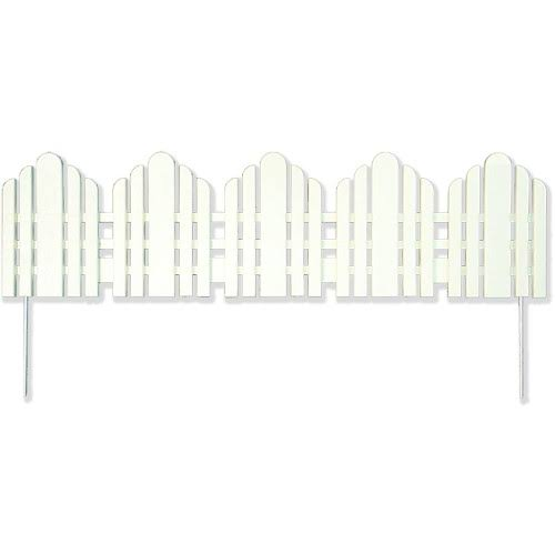 Easy Gardener 861 Adirondack Landscape Edging - White