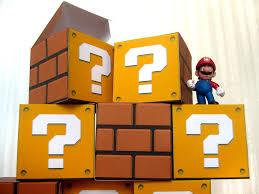 super mario question block papercraft party favor boxes 8 diy