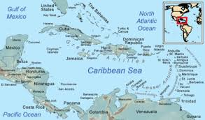 Political Map Of The West Indies