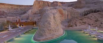 100 Amangiri Utah Most Incredible Hotel Pool Members Choice 2018 Hideaway Report