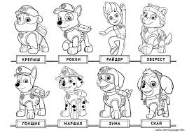 Colouring Pages Paw Patrol Coloring Page Kids Free Printable Cartoons Ryder