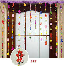 Doorway Beaded Curtains Wood by Unique Curtains Curtains Door Bead Curtains For Kids Ideas About