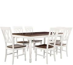 Crosley Shelby 7 Piece Dining Set QVC