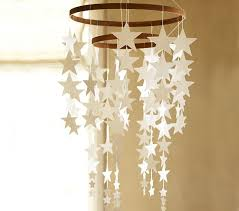 hanging star decor pottery barn kids