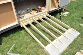 diy shed ramp do it your self