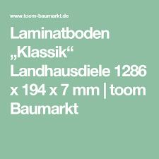laminatboden klassik landhausdiele 1286 x 194 x 7 mm