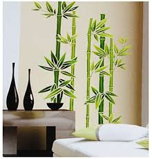 wandsticker bambusstrauch b x h 30cm x 85cm erhältlich in