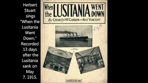 Where In Ireland Did The Lusitania Sink by When The Lusitania Went Down