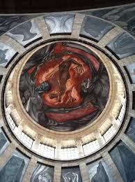Jose Clemente Orozco Murales Hospicio Cabaas by Man Of Fire Mural The Sistine Chapel Of The Americas Picture Of