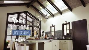 100 Exposed Joists How To Incorporate Exposed Beams Into Your Home Dcor