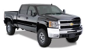 Bushwacker Pocket Style Fender Flares - 2007-2013 Chevy Silverado ... 2007 2013 Chevy Silverado Stealth Front Bumper By Add Bedstep Truck Bed Step Amp Research For And Gmc 072013 Used 1500 Wellrounded Performance Mccluskey Silverado Doraprotective Rear Cover Set Baltimore Washington Dc New For Stock Rims Custom Chrome 5 Fast Facts About The Chevrolet Jd Power Cars Chevygmc Suspension Maxx Z71 Lt Bellers Auto 2013chevroletsilvado2500hdbifuelhreequarter