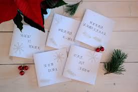 carte a faire soi meme carte de vœux pour noël 55 idées à fabriquer à la maison