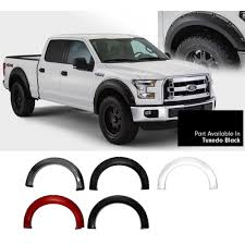Bushwacker F-150 Fender Flare Pocket-Style Color Match Set 2015-2017 42008 Ford F150 Riveted Fender Flares By Rough Country Youtube Pocket Style Flare Set Of 4 Oe Matte Black 20934 Bushwacker 2092702 Max Coverage Pocketstyle 02014 Raptor Svt Bushwacker 19992007 F350 Front And Generic Body Side Molding Trim 0408 Reg Cab Short Bed 52017 Oestyle 2093702 Ranger Mki Set 0914 Raptorstyle Extafender Rear Stampede 84142 Ruff Riderz Smooth Pc