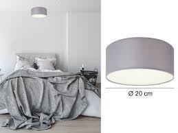 leuchten leuchtmittel deckenleuchte diele grau led