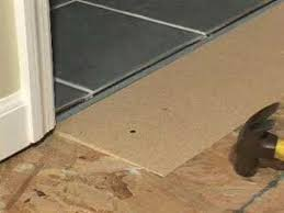 Unlevel Floors In House by Learn How To Solve All Your Flooring Transition Problems Youtube