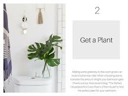 Best Plant For Your Bathroom by 6 Easy U0026 Reversible Ways To Add Style To Your Bathroom Lionsgate