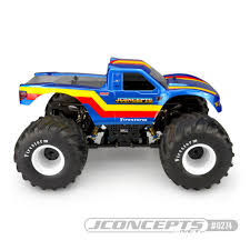 100 Ford Monster Truck JConcepts Inc Clear Body 2010 Raptor Twenty One