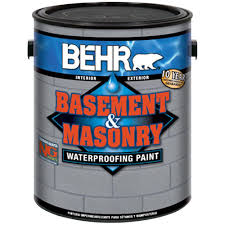 Drylok Concrete Floor Paint Sds by Behr Premium 1 Gal 876 Basement Gray Basement And Masonry