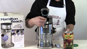 Hamilton Beach Coffee Maker The Scoop Exclusive Review
