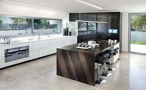 Ultra Modern Kitchen Design Black And White This Sharp Looking Furniture