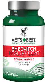 Do All Dogs Shed Their Fur by Amazon Com Vet U0027s Best Healthy Coat Shed And Itch Relief Dog