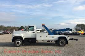 100 Top Kick Truck 1996 GMC With A Chevron 512 Twin Line Wrecker Eastern