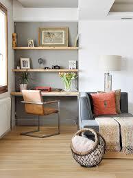 coin bureau salon coral grey shelves home office appart ama grey
