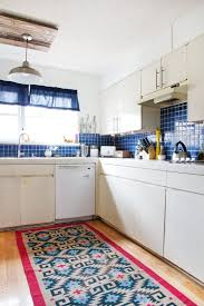 impressive light blue kitchen rugs my kitchen rug obsession