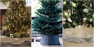 72 Inch Christmas Tree Skirts by Best Christmas Tree Skirts Wicker Willow And Silver Christmas