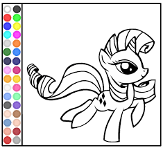 Coloring Book Games My Little Pony Free Download Pages