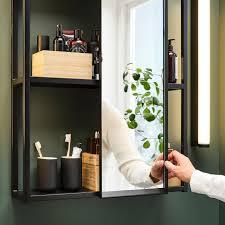 enhet spiegelschrank anthrazit 60x17x75 cm