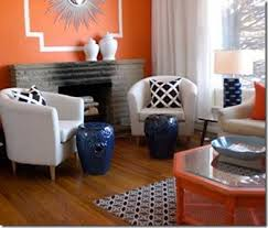 orange chairs design ideas