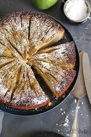 low carb apfelkuchen zuckerfrei bake to the roots