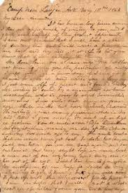 Sullivan Ballou letter Sarah My Love for you is Deathless
