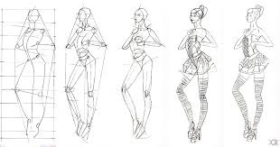 Beautiful How To Draw A Gown Step By Ideas