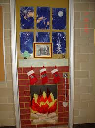 Office Christmas Decorating Ideas For Work by Backyards Decoration Christmas Door Decorations Ideas Classroom