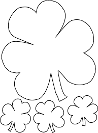 St Patricks Day Coloring Pages And Activities For Kids Shamrock Page 6 Free Printable