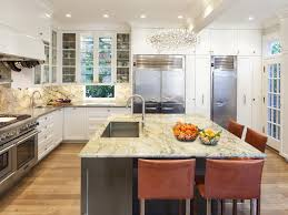 custom cabinets high end appliances detailed counter stools chef s