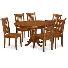 East West Furniture PORT7-SBR-W Realyn Ding Room Extension Table Ashley Fniture Homestore Gs Classic Oak Oval Pedestal With 21 Belmar New Pine Round Set Leaf 7piece And 6 Chairs Evelyn To Wonderful Piece Drop White Mahogany Heart Shield Back Details About 7pc Oval Dinette Ding Set Table W Extendable American Drew Cherry Grove 45th 7 Traditional 30 Pretty Farmhouse Black Design Ideas Kitchen