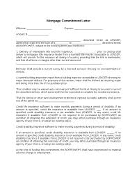 Mortgage mitment Letter Before Appraisal 28 Letter with